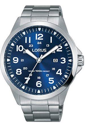 Lorus Unisex dorosły analogowy zegarek kwarcowy z paskiem ze stali nierdzewnej RH925GX9