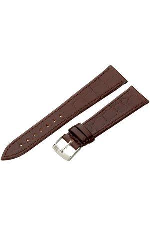 Morellato Bransoletka skórzana do zegarka męskiego BIRMINGHAM brązowa 20 mm A01U1563821034CR20