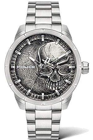 Police Uniseks dla dorosłych analogowy zegarek kwarcowy z bransoletką ze stali szlachetnej PL15715JS.78M