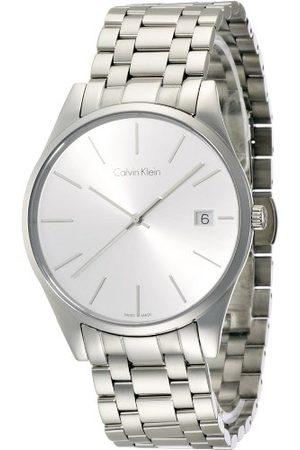 Calvin Klein Męski analogowy kwarcowy Smart Watch zegarek na rękę z bransoletką ze stali szlachetnej K4N21146