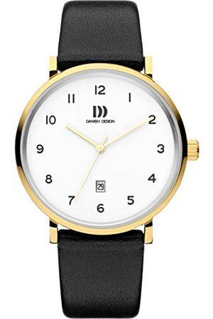 Danish Design Męski analogowy zegarek kwarcowy ze skórzanym paskiem IQ11Q1216