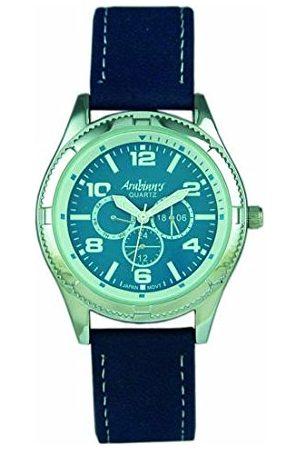 ARABIANS Męski analogowy zegarek kwarcowy ze skórzanym paskiem DBP221A