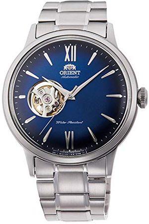 Orient Mężczyzna Zegarki - Męski analogowy automatyczny zegarek z bransoletką ze stali szlachetnej RA-AG0028L10B