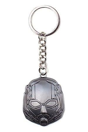 Marvel COMICS Ant-Man and The Wasp kask metalowy wisiorek brelok, srebrny (Ke283025Anw) brelok do kluczy, 10 cm