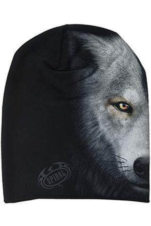Spiral Spiralne bezpośrednie wilk chi-lekkie bawełniane czapki, czarne (czarne 001), jedna (rozmiar: jeden rozmiar)