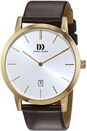 Danish Design Męski zegarek na rękę analogowy kwarcowy skóra 3310090