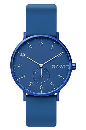 Skagen Uniseks analogowy zegarek kwarcowy dla dorosłych z silikonowym paskiem SKW6508