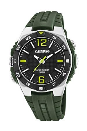 Calypso Męski analogowy zegarek kwarcowy z plastikową bransoletką K5778/2