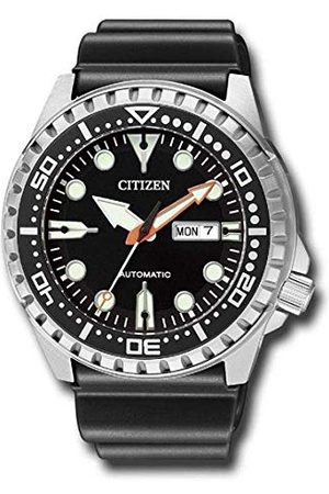 Citizen Męski analogowy zegarek mechaniczny z bransoletką z tworzywa sztucznego NH8380-15EE