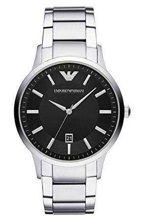Emporio Armani Męski analogowy zegarek kwarcowy z bransoletką ze stali szlachetnej AR1181