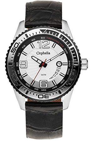ORPHELIA Męski zegarek na rękę Blacksmith analogowy kwarcowy skóra Pasek