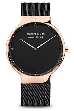 Bering Męski zegarek na rękę analogowy kwarcowy stal szlachetna 15540-262