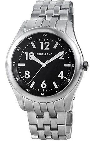 Excellanc Męski zegarek na rękę XL analogowy kwarcowy różne materiały 28092100001