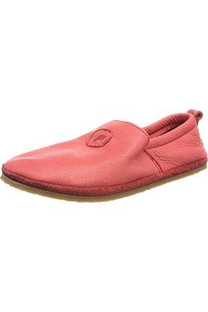 POLOLO Unisex Baby stóp Uni Outdoor czerwone płaskie slipper, 20 EU