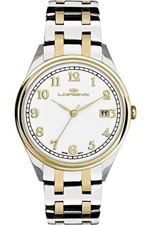 Stadlbauer Lorenz męski analogowy zegarek kwarcowy z bransoletką ze stali szlachetnej 027158AA