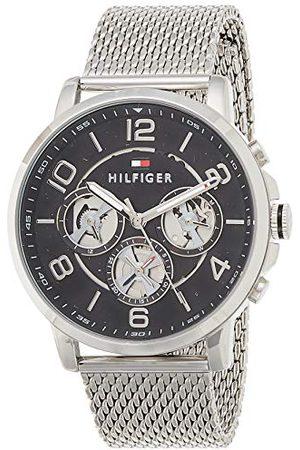 Tommy Hilfiger Męski analogowy zegarek kwarcowy z bransoletką ze stali szlachetnej 1791292