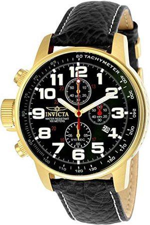 Invicta 3330 I-Force męski zegarek na rękę ze stali nierdzewnej kwarcowy czarna tarcza