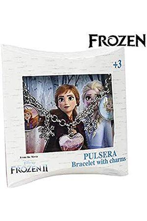 Cerdá Dziecięcy breloczek do torebki, uniseks, dla dzieci Bisuteria Pulsera Frozen 2-T.unica-Color White