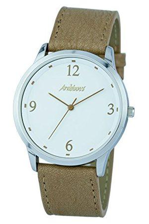 ARABIANS Męski analogowy zegarek kwarcowy ze skórzanym paskiem HBA2249C