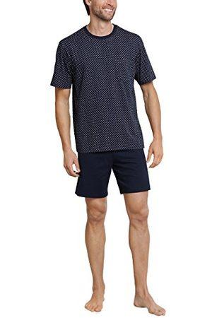 Schiesser Męskie wygodne dopasowanie Schlafanzug Kurz piżamy zestawy