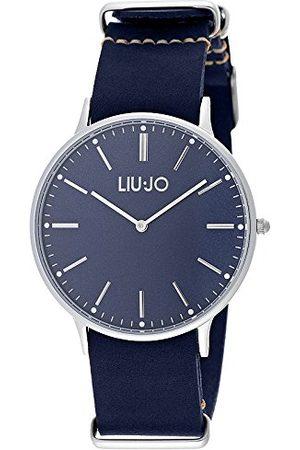 Liu Jo Unisex analogowy kwarcowy zegarek ze skórzanym paskiem LJW-TLJ966