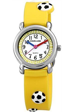 Excellanc Unisex Zegarek na rękę analogowy kwarcowy kauczuk 407045000022