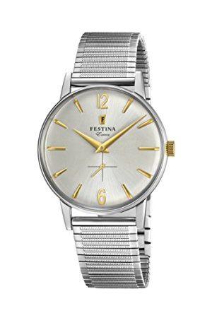 Festina F20250/2 męski analogowy zegarek kwarcowy z bransoletką ze stali nierdzewnej