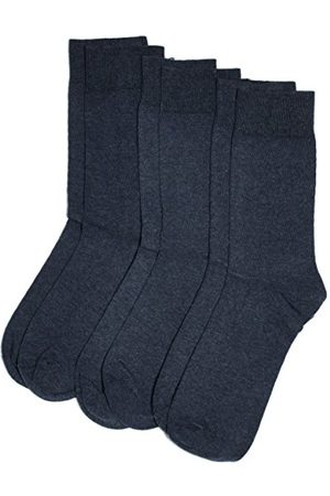 Camano Unisex 3-pak pończochy z miękkim ściągaczem dla dorosłych skarpety z bawełny