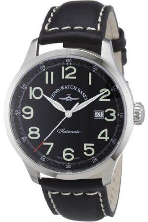 Zeno Męski automatyczny zegarek retro Tre 6569-a1 ze skórzanym paskiem
