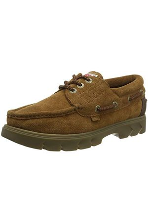 Kickers Unisex Lennon Boatshoe Suede buty do łodzi, brązowy - Braunbraun - 45 EU