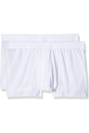 Sloggi Męskie spodenki retro SLM 24/7 Short 2P, białe (White 03) 8