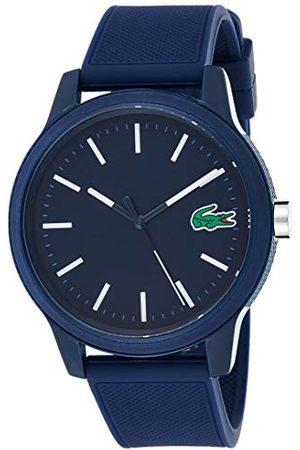 Lacoste Męski analogowy klasyczny zegarek kwarcowy z paskiem silikonowym 2010987