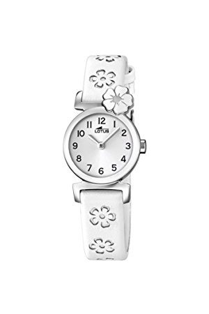 Lotus Lotos dziewczęcy analogowy klasyczny zegarek kwarcowy ze skórzanym paskiem 18174/1