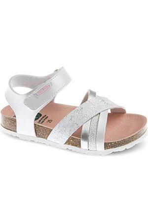 Pablosky Damskie sandały 483800 Peeptoe, białe, 38 EU