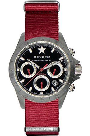 Oxygen Unisex zegarek na rękę SPRINT 42 chronograf kwarcowy nylon EX-C-SPR-42-NN-RE