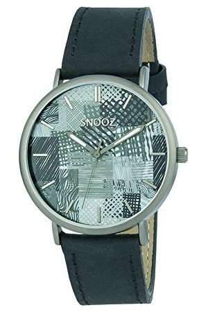 Snooz Saa1041-87 męski analogowy zegarek kwarcowy ze skórzanym paskiem