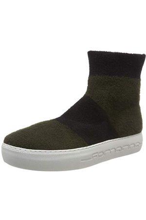 Fornarina Yuma4 wysokie sneakersy damskie, wielokolorowa - Mehrfarbig Yuma4 Kaki Black - 38 EU