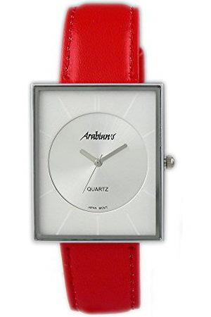 ARABIANS Męski analogowy zegarek kwarcowy ze skórzanym paskiem DBP2046R