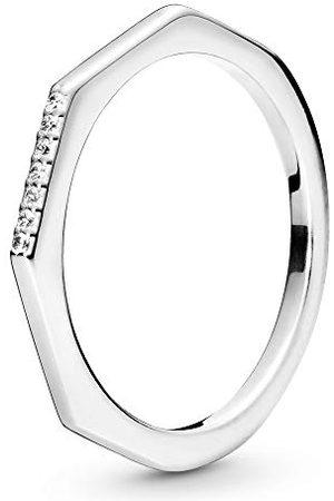 PANDORA Damski pierścionek obietnicy 198343CZ-54