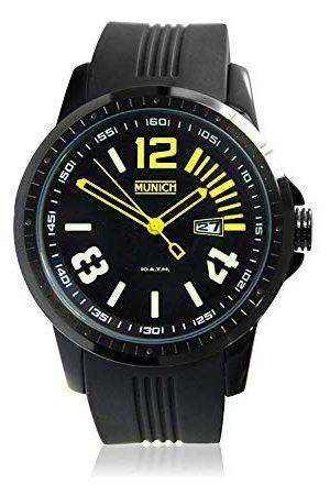 Munich Unisex dla dorosłych analogowy kwarcowy zegarek z silikonowym paskiem MU+103.9A