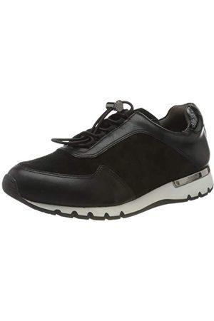 Caprice Damskie 9-9-23707-25 048 Sneaker, - Black Leo Comb - 39 EU Weit
