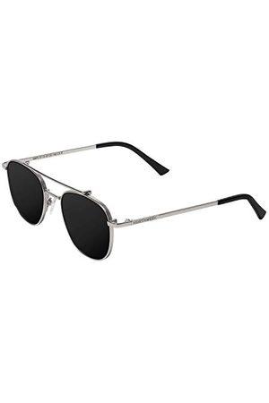 Northweek Unisex okulary przeciwsłoneczne dla dorosłych, wielokolorowe (Silver Metal/Black Polararized), 10.0