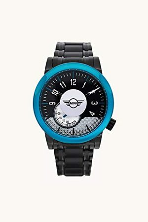 Boden Mini Unisex dorosły analogowy klasyczny zegarek kwarcowy z paskiem ze stali nierdzewnej SM-017