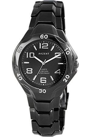 Akzent Unisex Dorośli Analogowy zegarek kwarcowy bez bransoletki SS7671100039