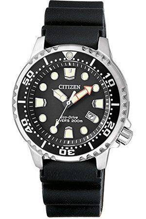 Citizen Damski analogowy zegarek kwarcowy z plastikowym paskiem EP6050-17E