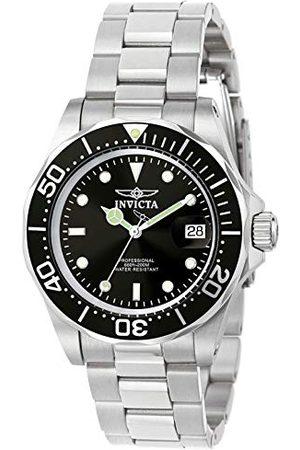 Invicta 9307 Pro nurek unisex zegarek na rękę ze stali nierdzewnej kwarcowy czarna tarcza
