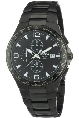 Boccia Męski tytanowy zegarek bransoletka B3773-03