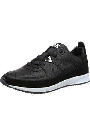 Hub Zone-w L57 W. Pony Sneaker, - Schwarz Black Black White - 39 EU