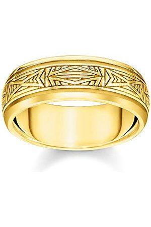 Thomas Sabo Unisex pierścionek ornamenty złoto 925 srebro szterlingowe żółte złoto TR2277-413-39-62