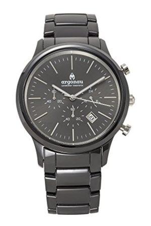 ARGONAU Unisex Dorośli Analogowy zegarek kwarcowy z ceramiczną bransoletką AU1022